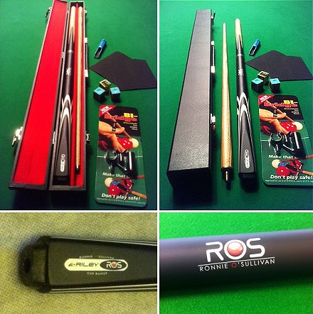 Ronnie O'Sullivan Cue and Case Deal (SP60)