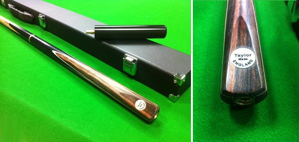 Taylor Made By Hand 3/4 Snooker Cue and Case Set (SP62)