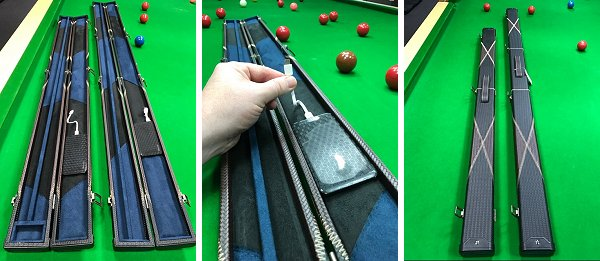 Snooker Cue Cases With Built-in Phone Power Bank
