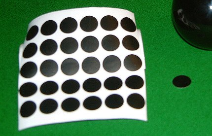 Snooker Table Spots