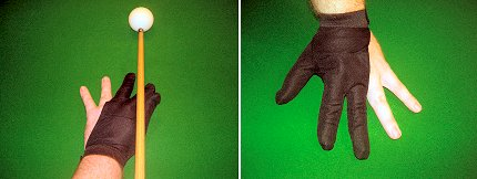 Black Hand Glove for Snooker/Pool players