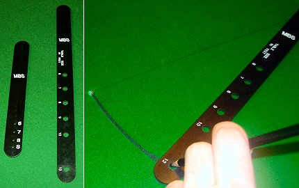 Snooker/Pool Table Marking Out Stick