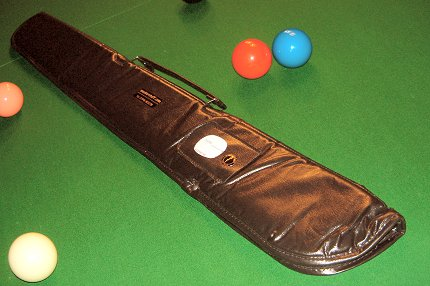 Soft Case in Black For Two Piece Cue