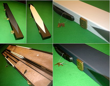 Cue Craft Case For 3/4 Jointed Cues and Extensions