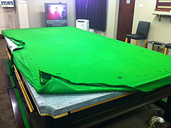 Snooker Table ReCovering And Pool Table ReCovering SnookerStuffcom - Snooker table vs pool table