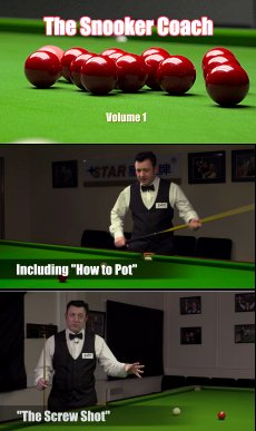 DVD: The Snooker Coach Volume 1 - All The Basics by Del Smith