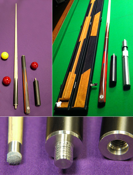 SP50  - Bargain Low Price Quality Snooker Cue Gift Pack