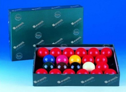 Aramith Snooker Ball Sets (with 15 Reds)Full Size Snooker Balls