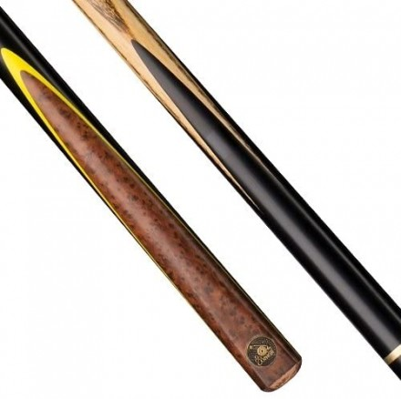 Cannon React 3/4 jointed snooker and English pool cue with small 8.75mm cue tip.