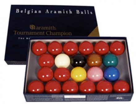 Belgian Aramith Tournament Champion Snooker Balls (Ref.B3030)